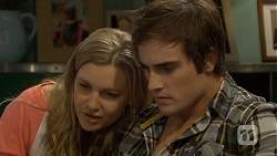 Georgia Brooks, Kyle Canning in Neighbours Episode 6739