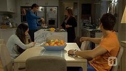 Imogen Willis, Brad Willis, Terese Willis, Josh Willis in Neighbours Episode 6740