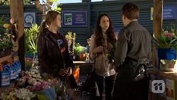 Josie Lamb, Imogen Willis, Callum Jones in Neighbours Episode 6740