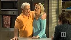 Lou Carpenter, Lauren Turner, Bailey Turner in Neighbours Episode 6740