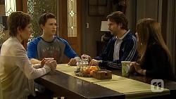 Susan Kennedy, Josh Willis, Brad Willis, Terese Willis in Neighbours Episode 6742