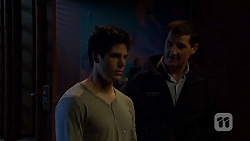 Chris Pappas, Matt Turner in Neighbours Episode 6743