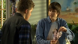 Callum Rebecchi, Bailey Turner in Neighbours Episode 6743