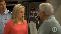 Matt Turner, Lauren Turner, Lou Carpenter in Neighbours Episode 6744
