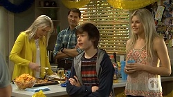Lauren Turner, Matt Turner, Bailey Turner, Amber Turner in Neighbours Episode 6745