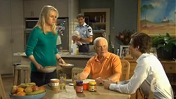 Lauren Turner, Matt Turner, Lou Carpenter, Mason Turner in Neighbours Episode 6745