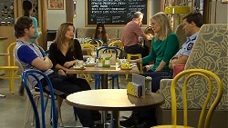 Brad Willis, Terese Willis, Lauren Turner, Matt Turner in Neighbours Episode 6746