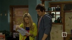 Georgia Brooks, Kyle Canning in Neighbours Episode 6746