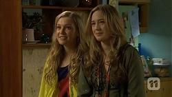 Georgia Brooks, Sonya Mitchell in Neighbours Episode 6747