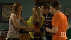 Gemma Reeves, Georgia Brooks, Toadie Rebecchi, Callum Jones in Neighbours Episode 6747