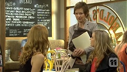Gemma Reeves, Susan Kennedy, Georgia Brooks in Neighbours Episode 6748