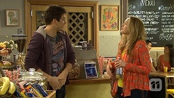 Chris Pappas, Sonya Mitchell in Neighbours Episode 6748