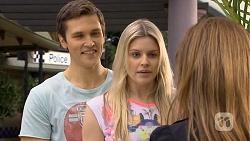 Josh Willis, Amber Turner, Terese Willis in Neighbours Episode 6750