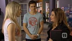 Amber Turner, Josh Willis, Terese Willis in Neighbours Episode 6750