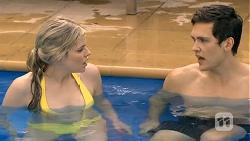 Amber Turner, Josh Willis in Neighbours Episode 6750