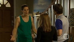 Josh Willis, Terese Willis, Brad Willis in Neighbours Episode 6751
