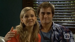 Georgia Brooks, Kyle Canning in Neighbours Episode 6751