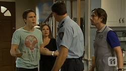 Josh Willis, Terese Willis, Matt Turner, Brad Willis in Neighbours Episode 6751
