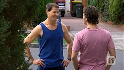 Matt Turner, Brad Willis in Neighbours Episode 6751