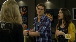 Georgia Brooks, Kyle Canning, Kate Ramsay in Neighbours Episode 6752