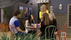 Brad Willis, Imogen Willis, Lauren Turner, Terese Willis, Amber Turner in Neighbours Episode 6752
