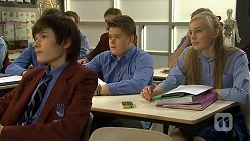 Bailey Turner, Callum Jones, Josie Mackay in Neighbours Episode 6752