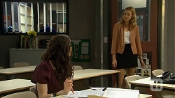 Kate Ramsay, Gemma Reeves in Neighbours Episode 6753