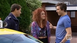 Matt Turner, Rhiannon Bates, Mason Turner in Neighbours Episode 6753