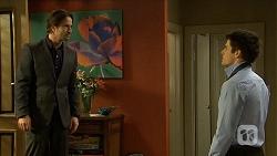 Brad Willis, Chris Pappas in Neighbours Episode 6754