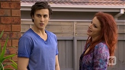 Mason Turner, Rhiannon Bates in Neighbours Episode 6755