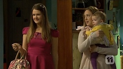 Josie Lamb, Sonya Mitchell, Nell Rebecchi in Neighbours Episode 6755