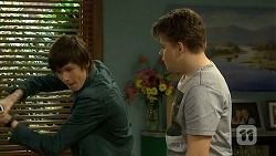 Bailey Turner, Callum Jones in Neighbours Episode 6755
