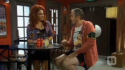 Rhiannon Bates, Karl Kennedy in Neighbours Episode 6755