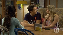 Imogen Willis, Josh Willis, Amber Turner in Neighbours Episode 6757