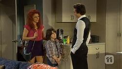 Rhiannon Bates, Jackson Bates, Mason Turner in Neighbours Episode 6758