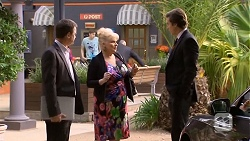 Paul Robinson, Sheila Canning, Mason Turner in Neighbours Episode 6760