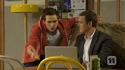 Josh Willis, Paul Robinson in Neighbours Episode 6760