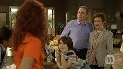Rhiannon Bates, Jackson Bates, Karl Kennedy, Susan Kennedy in Neighbours Episode 6760