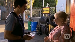 Chris Pappas, Sheila Canning in Neighbours Episode 6760