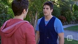 Josh Willis, Chris Pappas in Neighbours Episode 6760