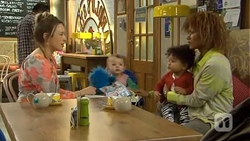 Sonya Mitchell, Nell Rebecchi, Mia Edwards, Mandy Edwards in Neighbours Episode 6762