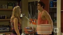 Georgia Brooks, Kyle Canning in Neighbours Episode 6762
