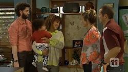 Eric Edwards, Mia Edwards, Mandy Edwards, Sonya Rebecchi, Toadie Rebecchi in Neighbours Episode 6762