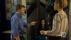 Callum Jones, Imogen Willis, Gemma Reeves in Neighbours Episode 6763