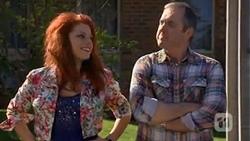 Rhiannon Bates, Karl Kennedy in Neighbours Episode 6764