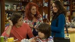 Mason Turner, Rhiannon Bates, Jackson Bates, Kate Ramsay in Neighbours Episode 6765