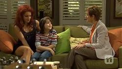 Rhiannon Bates, Jackson Bates, Susan Kennedy in Neighbours Episode 6765
