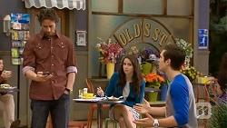 Brad Willis, Kate Ramsay, Josh Willis in Neighbours Episode 6765