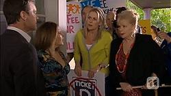Paul Robinson, Terese Willis, Lauren Turner, Sheila Canning in Neighbours Episode 6766
