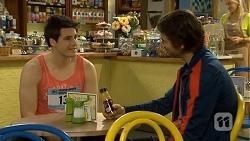 Chris Pappas, Brad Willis in Neighbours Episode 6767